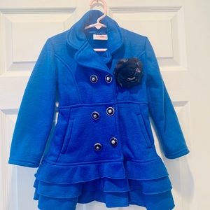 Other - Royal Blue Peacoat Toddler 4/5. Good Condition 💙